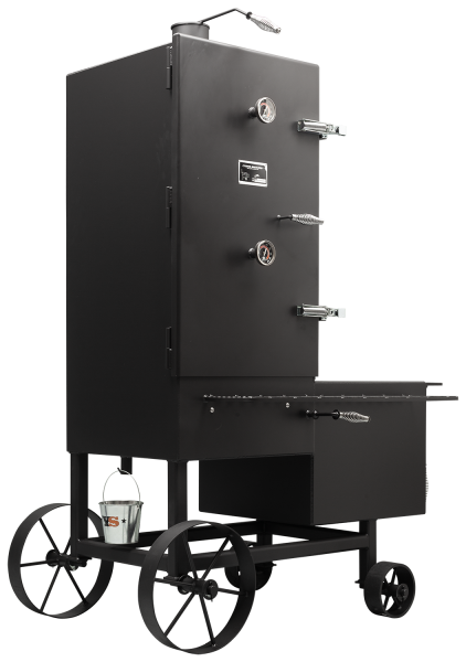 Grillwagen Smoker BBQ Grill Holzkohlegrill Ofengrill Standgrill